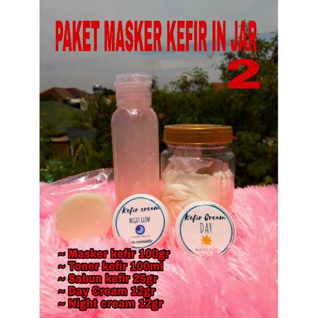 MASKER KEFIR ORGANIK mini SUSU SAPI 100% VARIAN PART 1 | Shopee Indonesia
