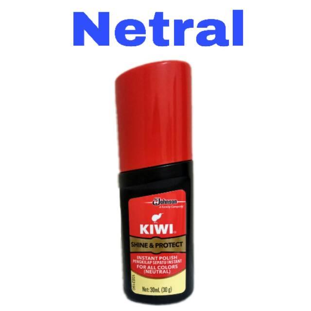 Semir Sepatu Cair Kiwi Shine Protect For All Colors Warna