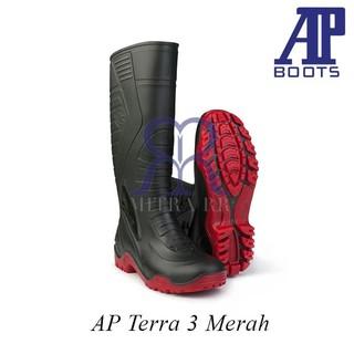 642954f9dcf AP Boots Terra Army - Sepatu Boot Kerja Karet Tinggi Panjang   Shopee  Indonesia