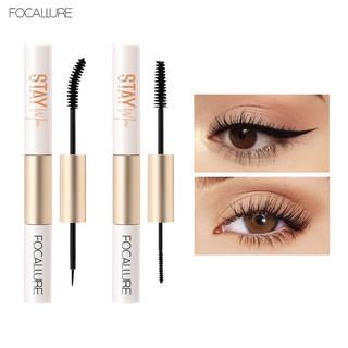 Focallure 2 In 1 Maskara + Eyeliner Anti Air Untuk Hasil Bulu Mata Tebal Dan Lentik thumbnail