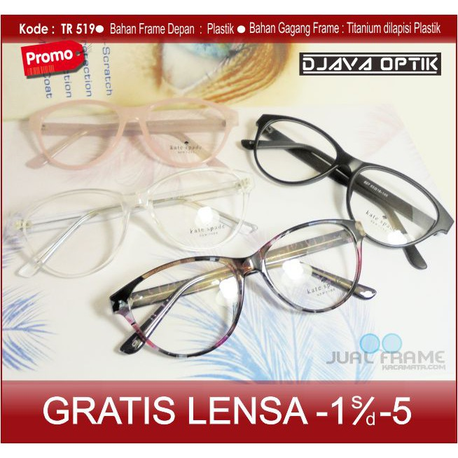 frame kacamata plus - Temukan Harga dan Penawaran Kacamata Online Terbaik -  Aksesoris Fashion Oktober 2018  fda78baced