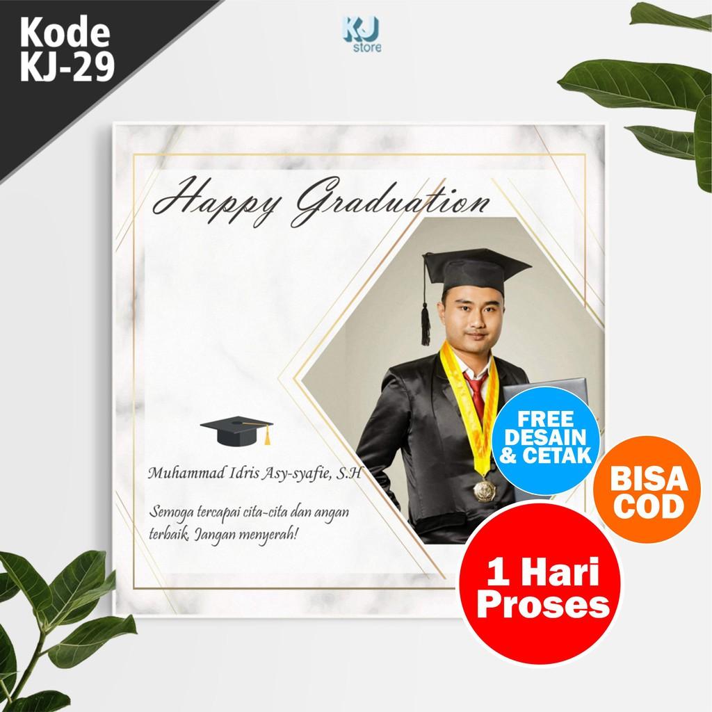 Desain+CetakHadiah Wisuda Unik Wall decor MDF Kado ...