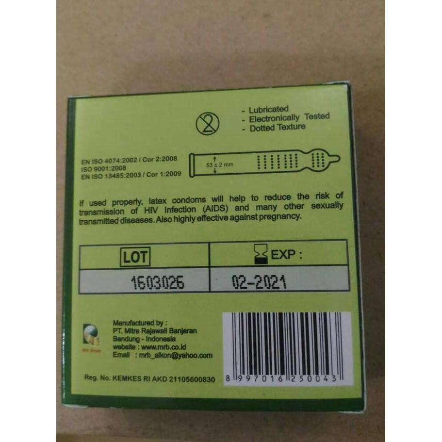 Condom Artika Gerigi 3pc Kondom Berkontur Shopee Indonesia Bergerigi