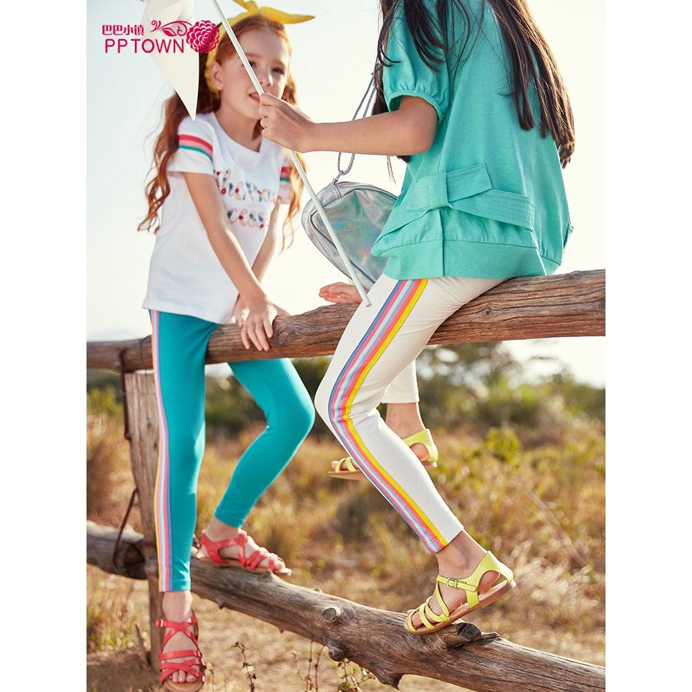 Celana Legging Panjang Casual Anak Perempuan Warna Pelangi Untuk Musim Semi Gugur Shopee Indonesia