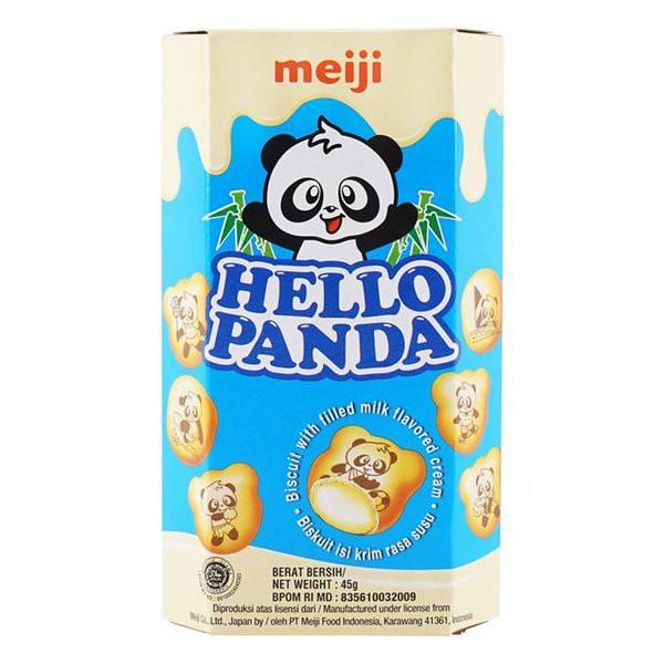 MEIJI Hello Panda Milk 45 gram | Shopee Indonesia