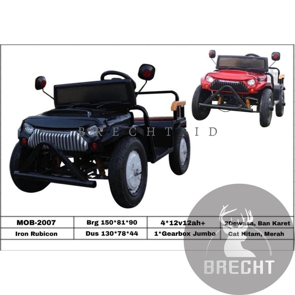Mainan Anak Mobil Aki Iron Rubicon MOB-2007 (Khusus Indah Cargo)