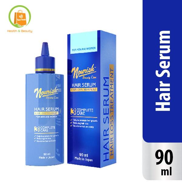 Nourish Beauty Care Hair Serum Membantu Tingkatkan Rambut Tumbuh Dan Kurangi Rontok 90 Ml Shopee Indonesia