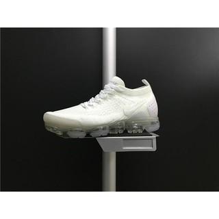 a32fadbedf489 Sepatu Sneakers Olahraga Pria   Wanita Model Nike Air Vapormax Flyknit 2018  Warna Putih untuk Lari