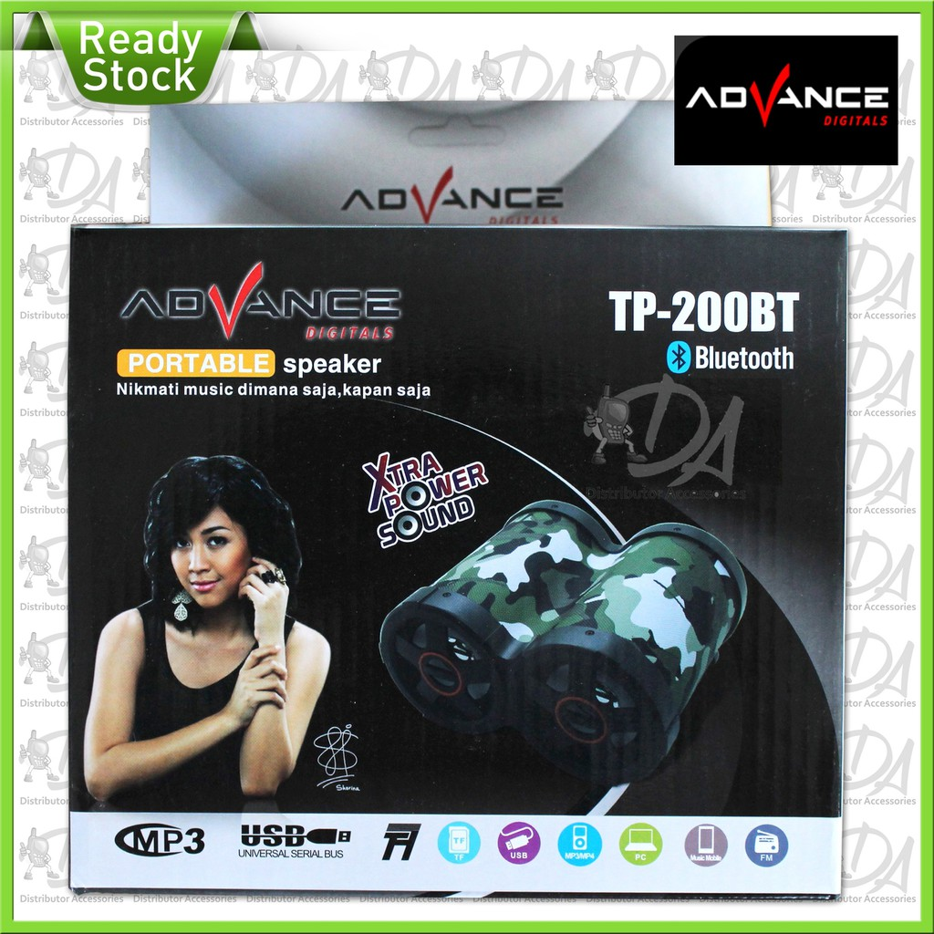 Speaker Advance Bluetooth Subwoofer T101 Bt Cuci T101bt Gudang Termurah Promo Produk Terla Shopee Indonesia