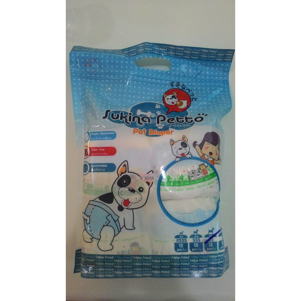 Diapers Anjing Besar L, Pampers Pembalut Anjing Doggy, Dog Pet Diapers | Shopee Indonesia