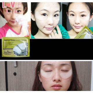 Lovelin 1PCS Gold collagen crystal eye mask to dilute fine lines and moisturize 5