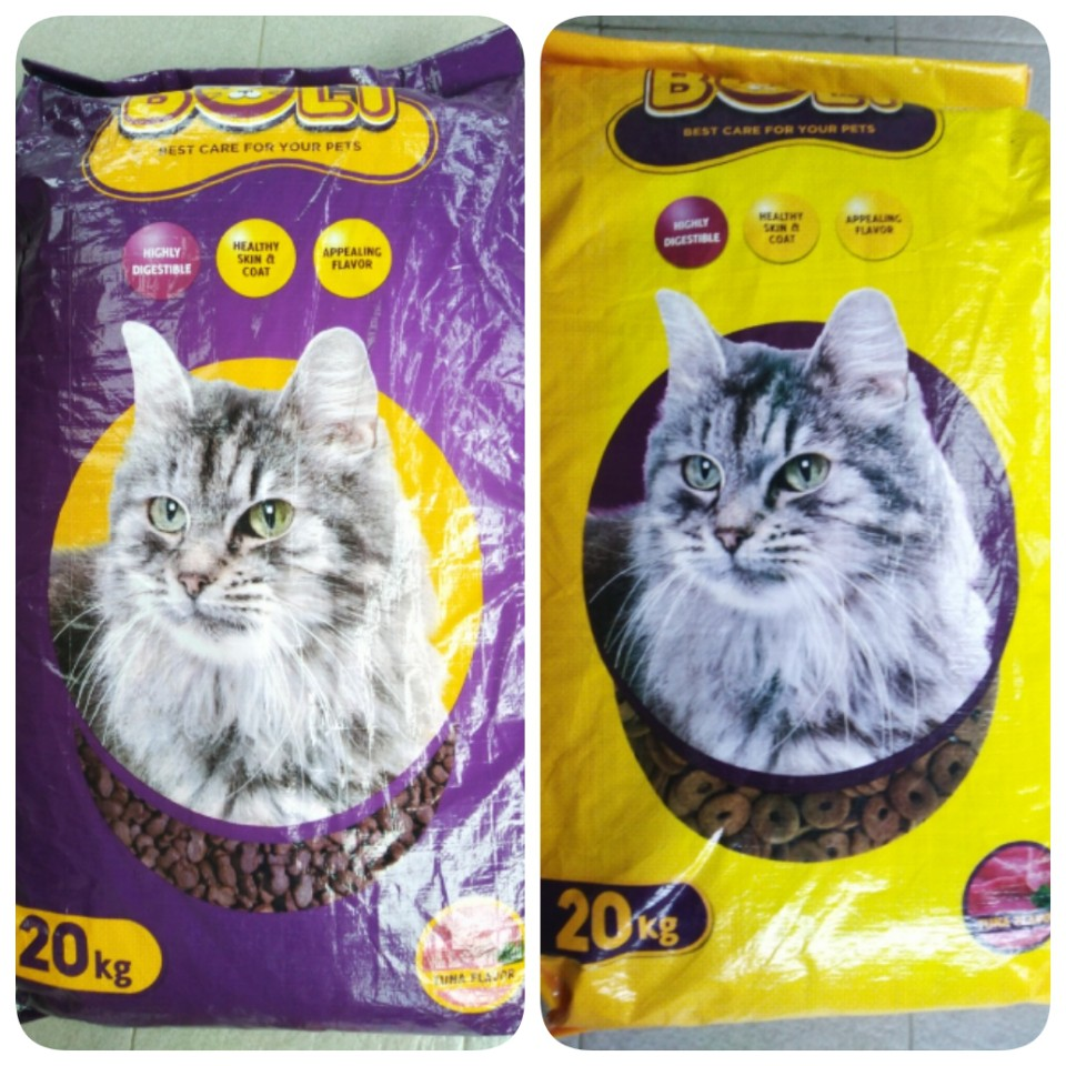 Makanan Kucing Bolt Repack 1kg Shopee Indonesia