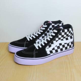 Sepatu Vans SK8 Cheakerboard catur High Top PREMIUM  e3cd1281df