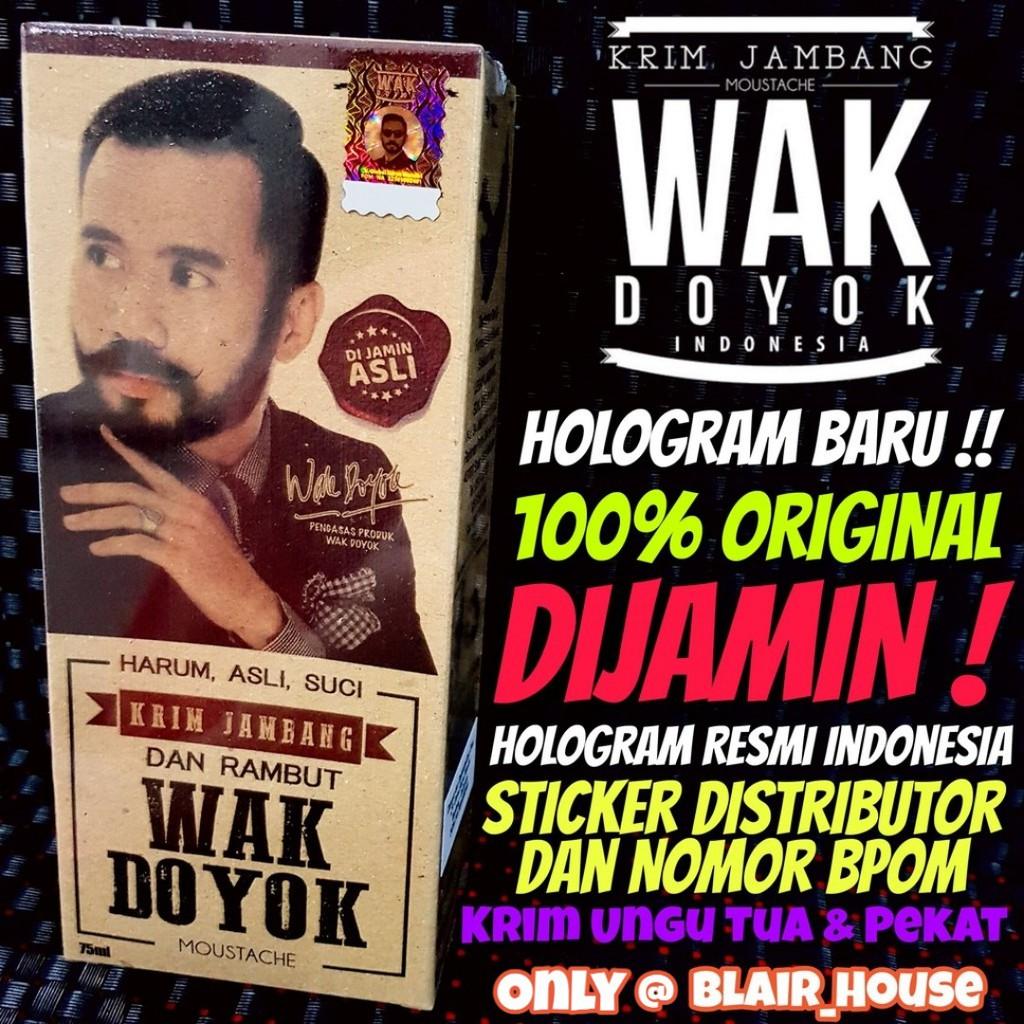 KRIM WAK DOYOK ORIGINAL/WAKDOYOK POCKET/MINI SIZE/UKURAN KECIL/PENUMBUH RAMBUT/ALIS/KUMIS/JAMBANG | Shopee Indonesia