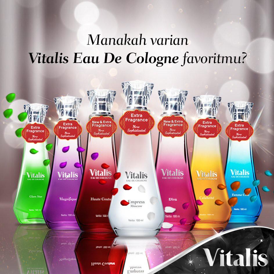 Vitalis Eau De Cologne white Empress Moscow 50ml / Parfum wanita | Shopee Indonesia