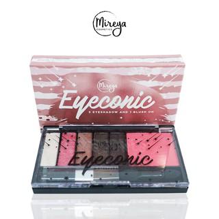 BUY 1 GET 2 Mireya Eyeconic 5 Eyeshadow And 1 Blush On 3