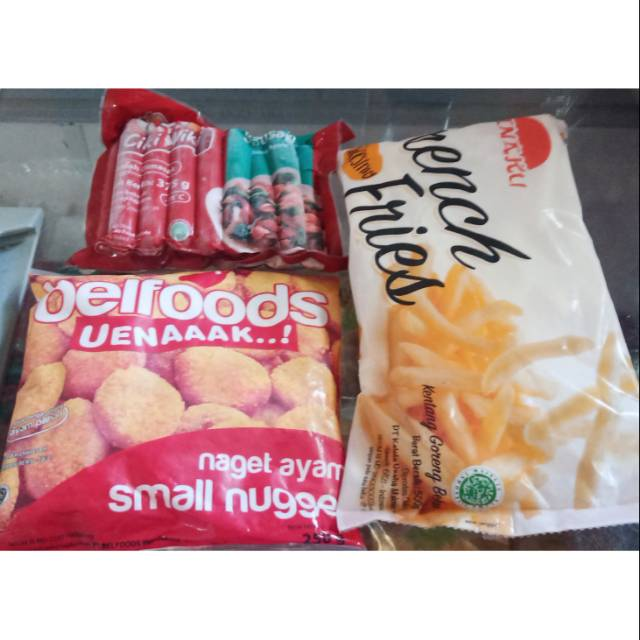 Frozen food paket hemat/frozen food murah