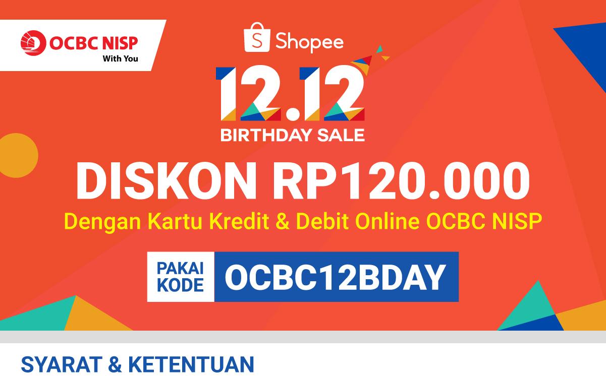Diskon 120rb Pakai Kartu Kredit Dan Debit Online Ocbc Nisp 18 Nov 11 Des 2019