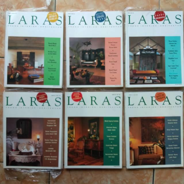 Majalah Interior Dan Arsitektur Laras Tahun 1996 1998 Shopee Indonesia