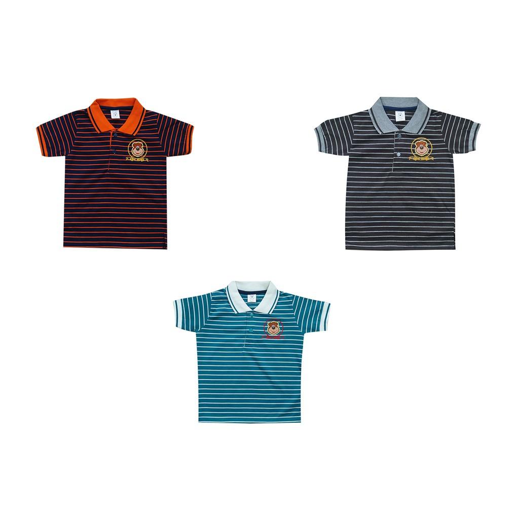 Macbear Baju Polo Anak Cool White Stripes On Blue Size 4 Daftar Aq3 1710 Kids Setelan Boss Panda 3 Merah Hello Variasi Warna Shopee Indonesia