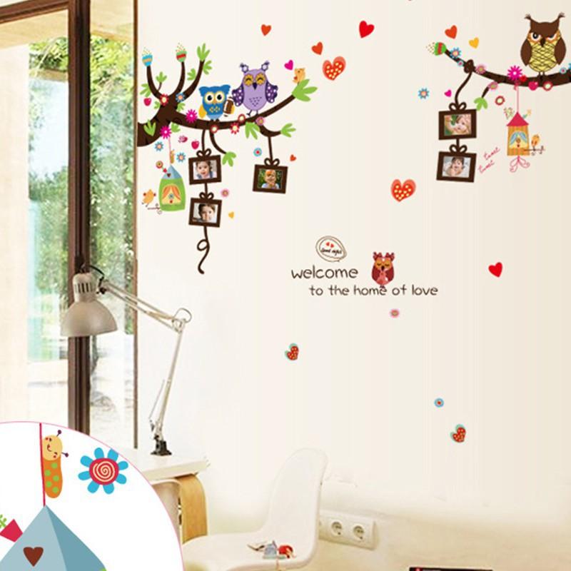 Stiker Dinding dengan Bahan PVC dan Gambar Bunga Peony untuk Kamar