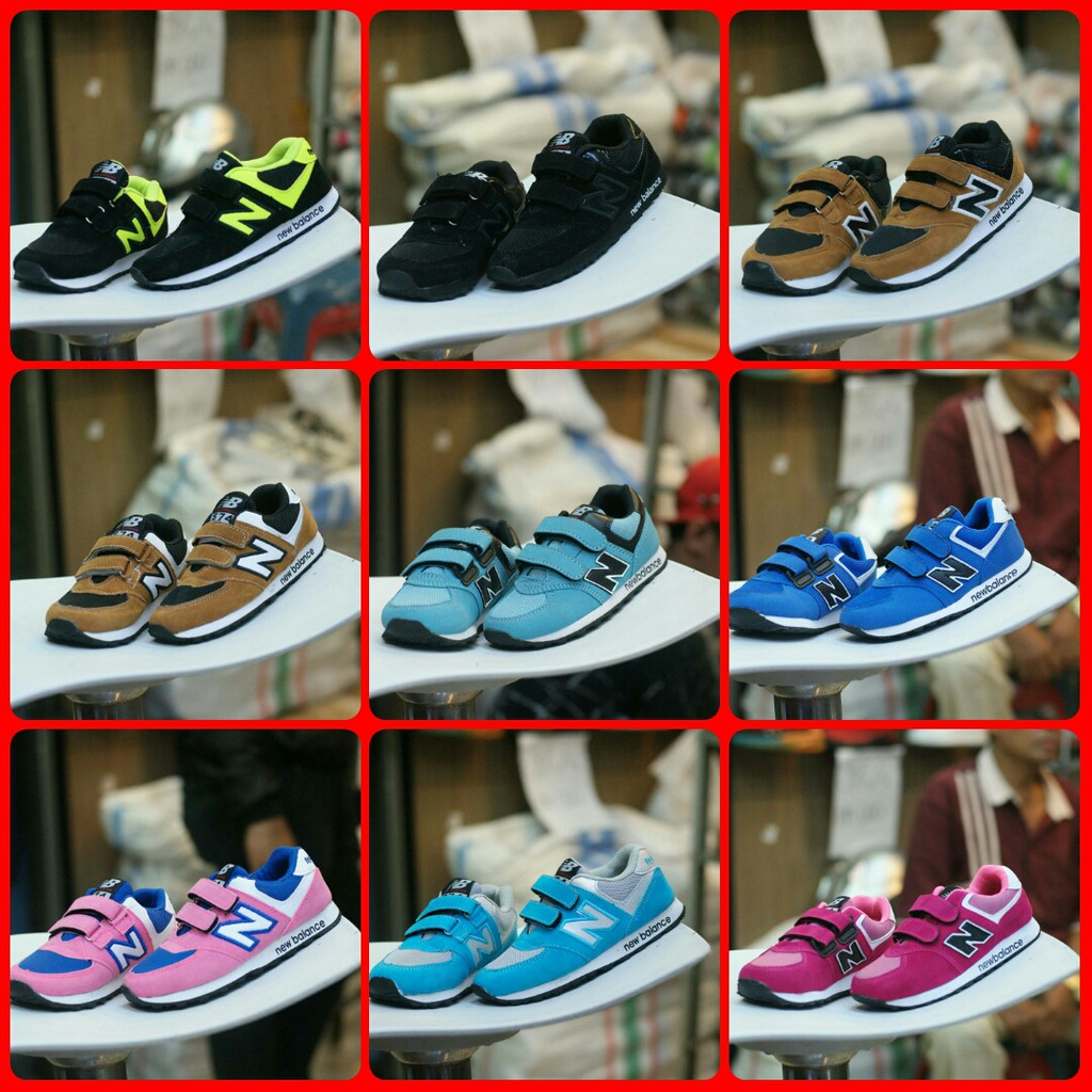 Sepatu Anak Branded New NB Kids - Sepatu Anak Sekolah Hitam Size 28-32 d73705dec1