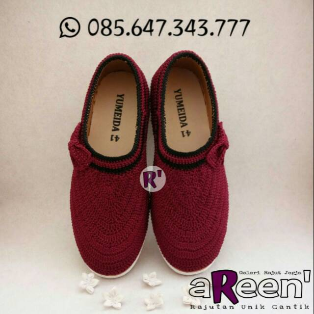 Sepatu Rajut Spesial ibu   anak  097ade3f1b