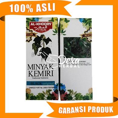 minyak kemiri al khodry obat herbal penumbuh rambut original Minyak Kemiri 100 Persen Asli