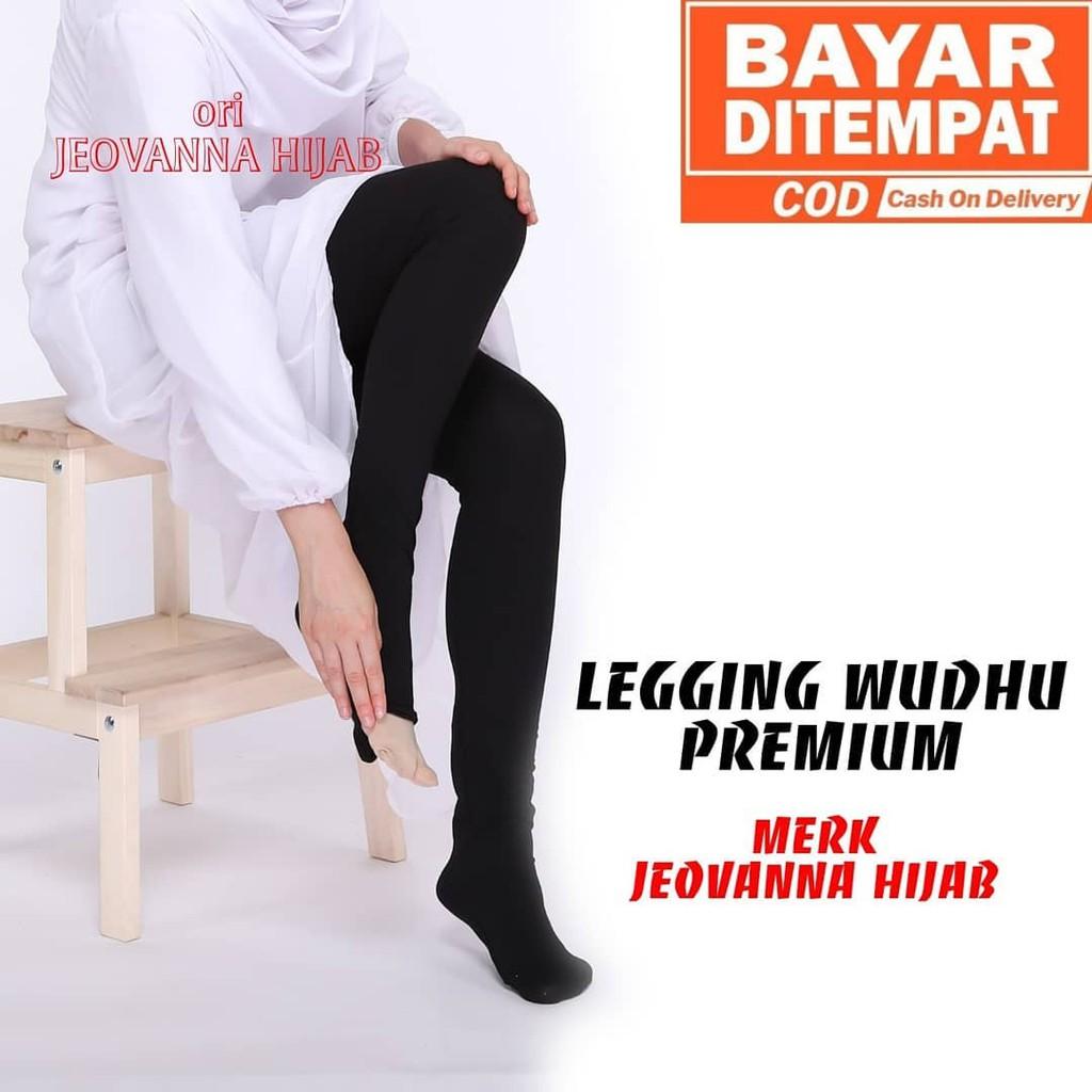 Jeovana Legging Wudhu Alica Dark Gray M11720 R14s6 R35s7 Shopee Indonesia