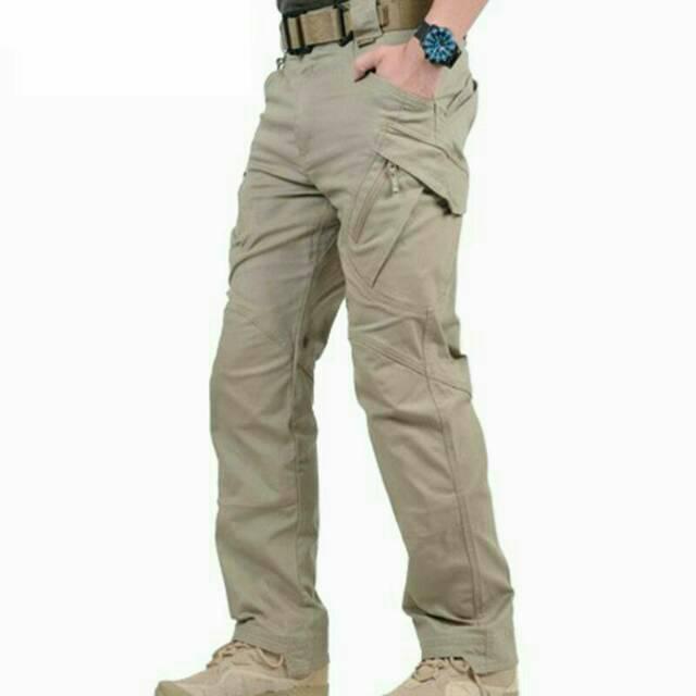 Tactical long pants underarmour khaki,dark grey, green ode ripstop tornado | Shopee Indonesia