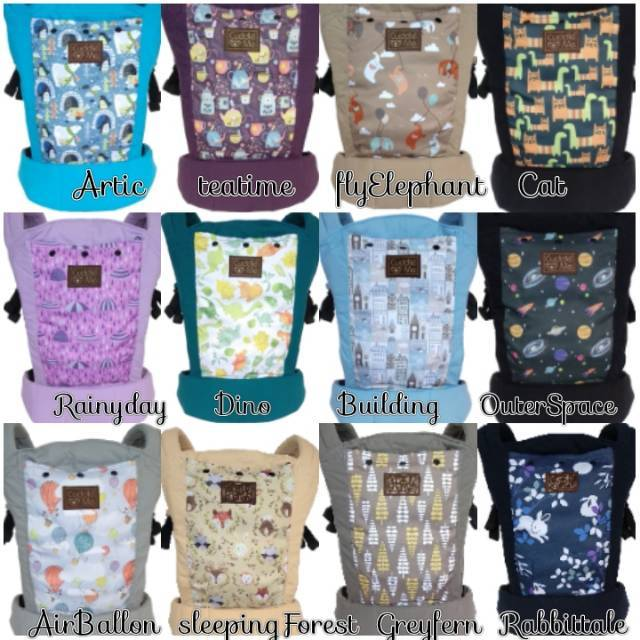 Cuddleme Lite carrier Motif Autumn. Source · [Sale] Gendongan bayi .