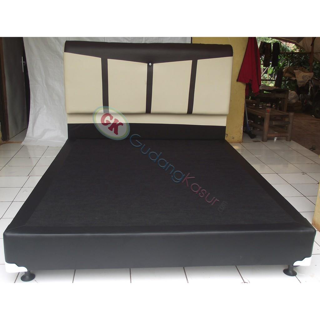 Divan Sandaran Tempat Tidur Untuk Kasur Dan Springbed Sb88 Putih Sky Wash Dipan Headboard 160x200 Shopee Indonesia