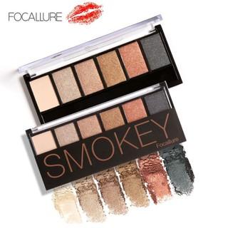 🌹ORI🌹-『FOCALLURE』6-Colors-Eyeshadow-Palette-Glamorous