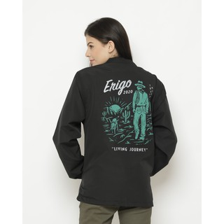 Erigo Coach Jacket Living Journey Black
