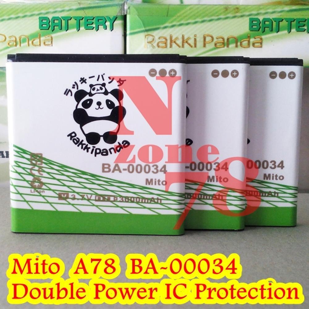 Baterai Mito A78 Ba 00034 Imo S78 Glory Double Power Ic Rakkipanda Battery For Discovery S88 Protection Shopee Indonesia