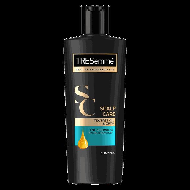Tresemme Shampo Rambut Scalp Care Tea Tree Oil And Zypto 170ml Lawan Bakteri-1