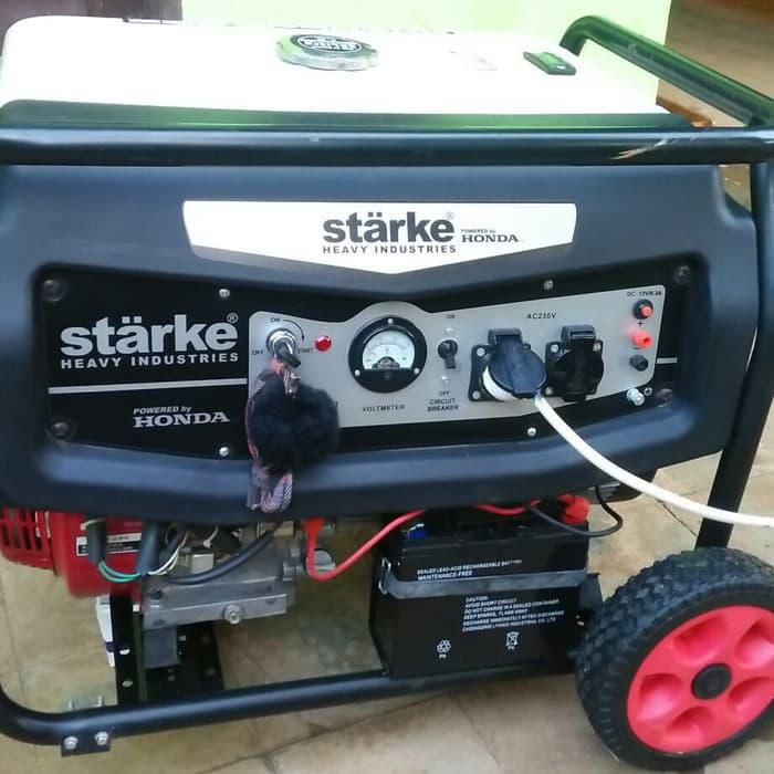 Generator / Genset / Genset Honda 5000 Watt