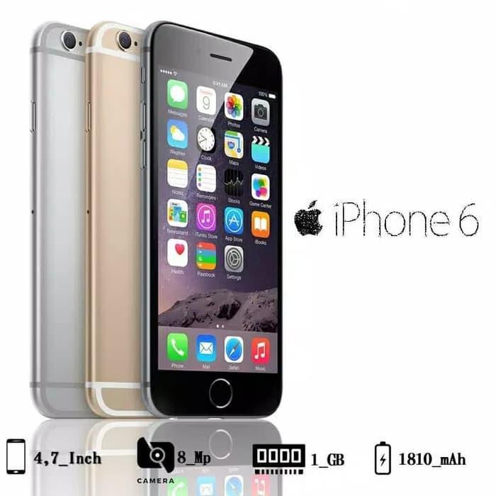 [Handphone Second] iPhone 6 16GB Preloved Second HP Ori Bekas Murah Berkualitas Apple iOS HP Bekas
