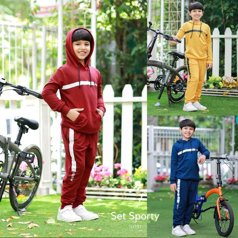 Setelan Anak Laki-laki Set Sporty by NuBintang