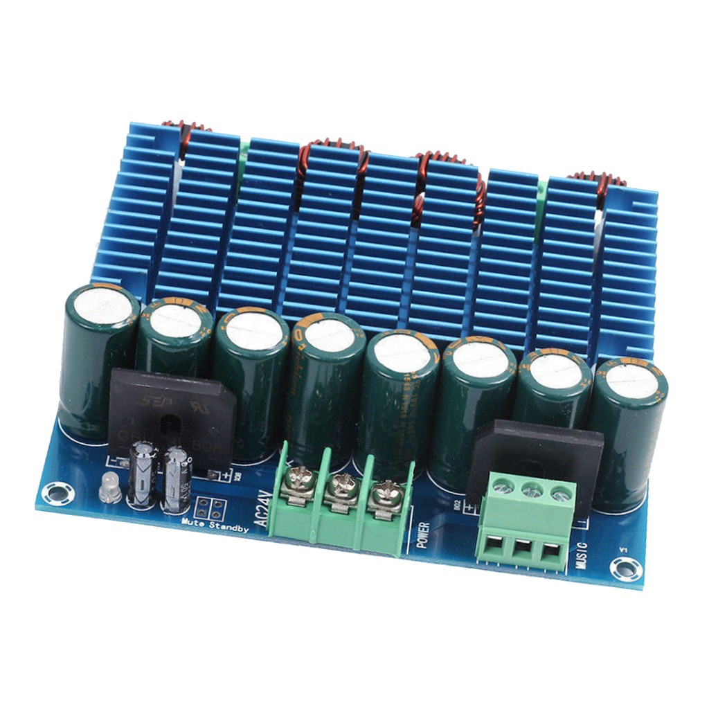 24V 2x420W Dual Chip Audio Amplifier Board Digital Power Amplifier Board Zer one TDA8954TH Amplifier Board