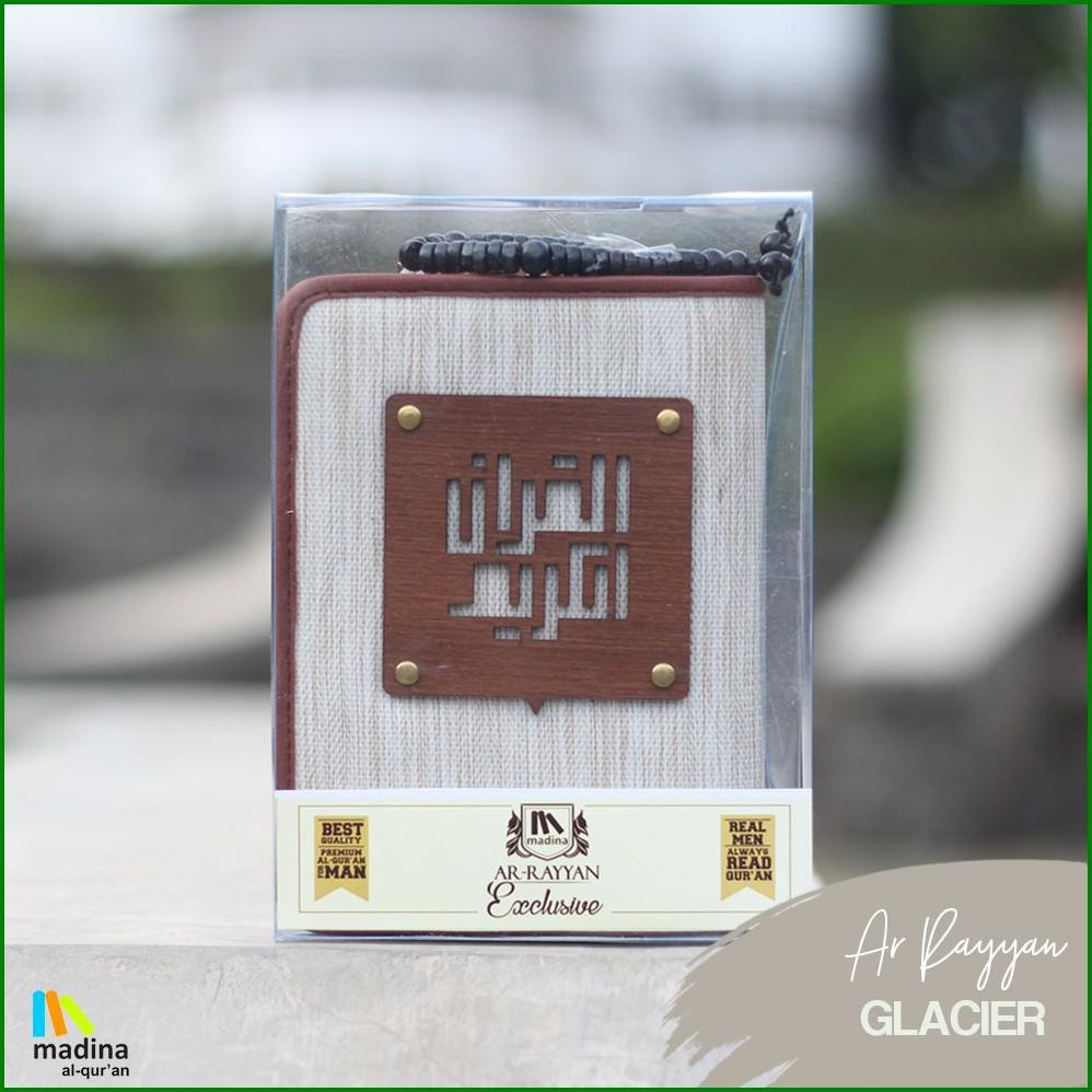 AlQuran Madina yan Al-Quran Zipper Ar Rayyan Exclusive for Men | Shopee Indonesia