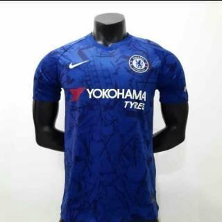 the latest b78e1 217b6 Jersey Kaos Baju Bola Chelsea FC Home Away Training Biru ...