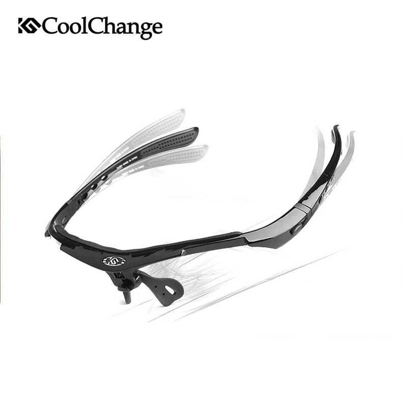 CoolChange Kacamata Sepeda dengan 5 Lensa Myopia - 0089 | Shopee Indonesia