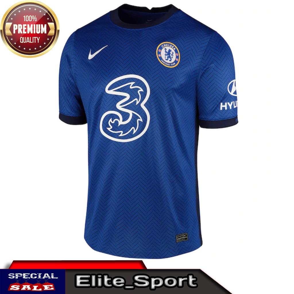 Jersey Bola Chelsea Home 2020 2021 Grade Ori Kyalitas Premium Baju Bola Chelsea Grade Ori Terbaru Shopee Indonesia