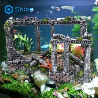 Fish Tank Aquarium Decor Spongebob Squidward House Cartoon Ornaments Gifts Shopee Indonesia