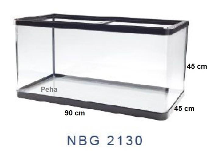 Aquarium Ikan - Akuarium Nisso Manta - Kaca Lengkung p 90 cm NBG 2130