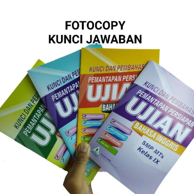 Kunci Jawaban Buku Pemantapan Ujian Un Smp Mts 2020 Penerbit Akasia Shopee Indonesia