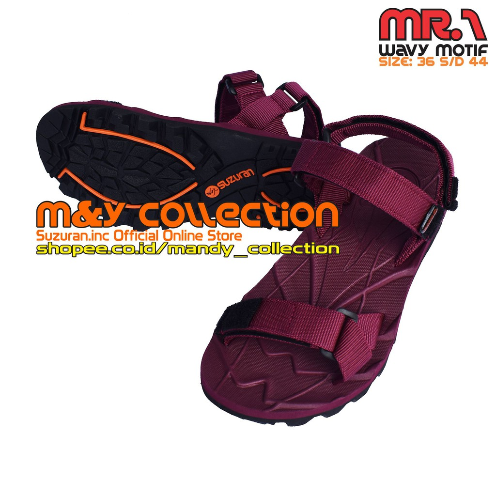 Sandal Gunung Suzuran Edge X Black 2 Shopee Indonesia Cross Thumb Mr2 Brown
