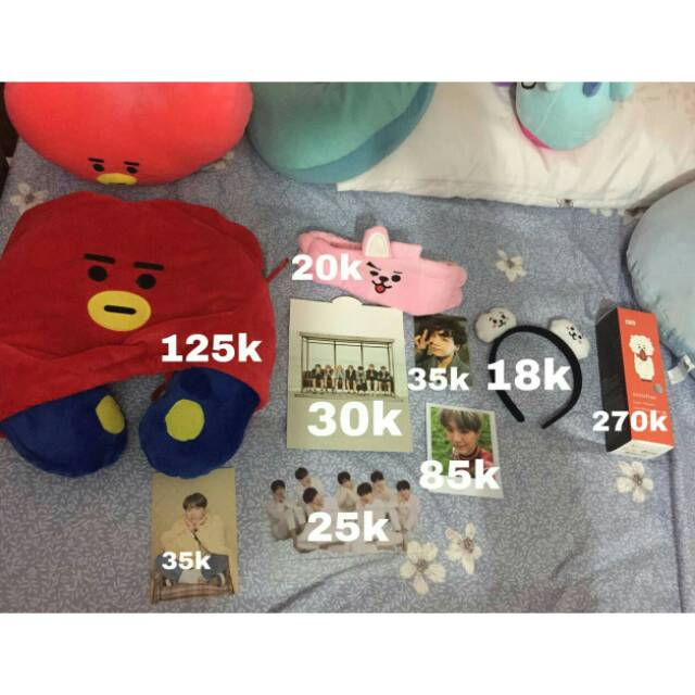 Official Unofficial Merch Bts Bt21 Shopee Indonesia