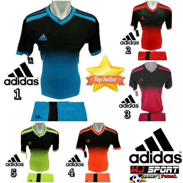 Baju Olahraga Jersey Bola Kaos Setelan Futsal / Volly badminton ad 04 | Shopee Indonesia
